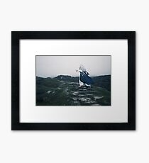 The Blue Witch by Cat Burton Framed Print