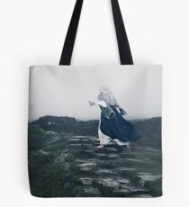 The Blue Witch by Cat Burton Tote Bag