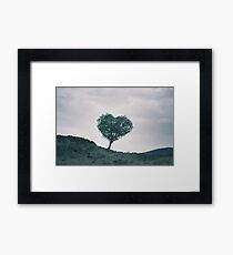 The Heart Of Scotland by Cat Burton Framed Print