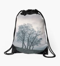 A Dance With Nature by Cat Burton Drawstring Bag