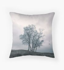 A Dance With Nature by Cat Burton Throw Pillow
