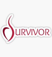Anorexia Survivor Sticker