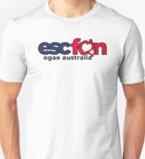 ESCFAN -OGAE Australia Logo (Black) Slim Fit T-Shirt