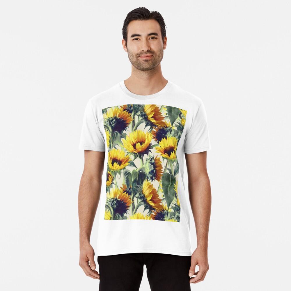 Sonnenblumen für immer Premium T-Shirt