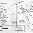 SAR 1974 Map by Railmaps