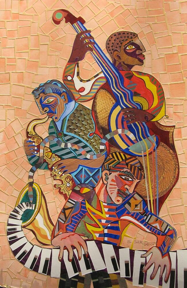 Jazz Trio by Sally Sargent