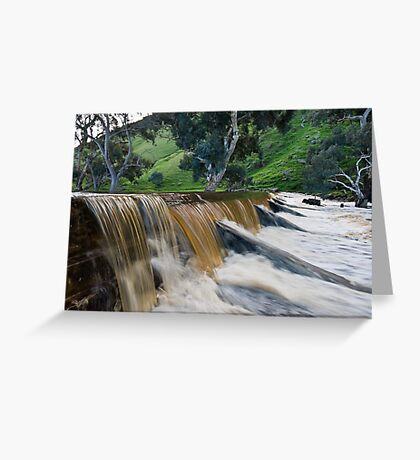 Marne River ford Greeting Card
