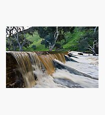 Marne River ford Photographic Print