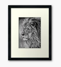 Remembrance - Cecil The Lion Framed Print