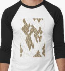 Animal Skin Men's Baseball ¾ T-Shirt