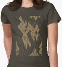 Animal Skin Womens Fitted T-Shirt