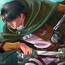 Levi Screenshot Redraw by Luno-Doodles