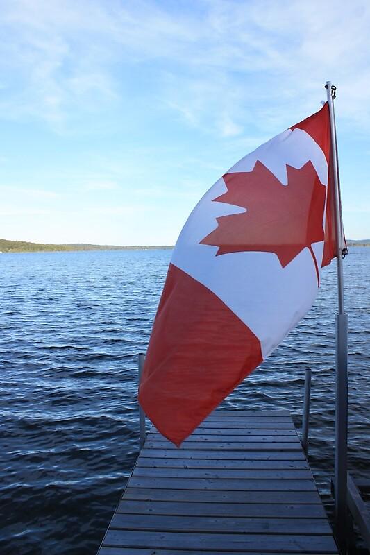 Quot Hvv Flag On Dock Quot By Lindsayh Redbubble
