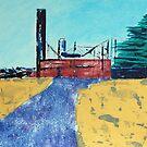 Patea Freezing Works: Bare Bones IX by Cath Sheard