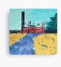 Patea Freezing Works: Bare Bones IX Canvas Print