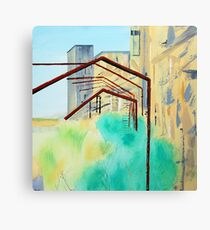 Patea Freezing Works: Metalwork VI Canvas Print
