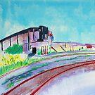Patea Freezing Works: Railway VII by Cath Sheard