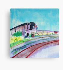 Patea Freezing Works: Railway VII Canvas Print