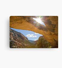Sand Canyon Arch 2 Canvas Print