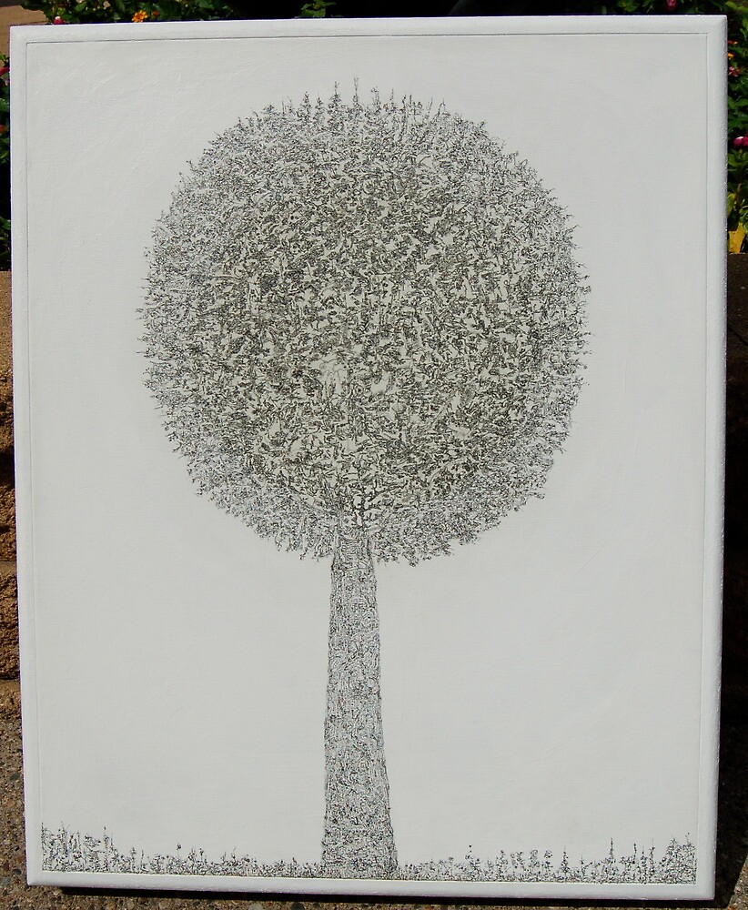 MicroDoodle Topiary by Jeffery Gauss