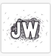 JW Jacob Whitesides Design Sticker