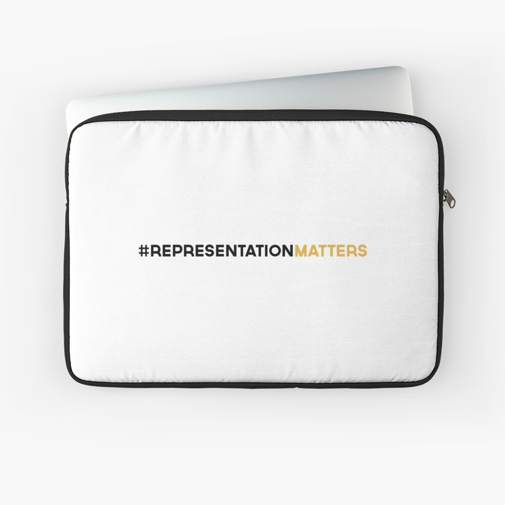 #RepresentationMatters Laptop Sleeve
