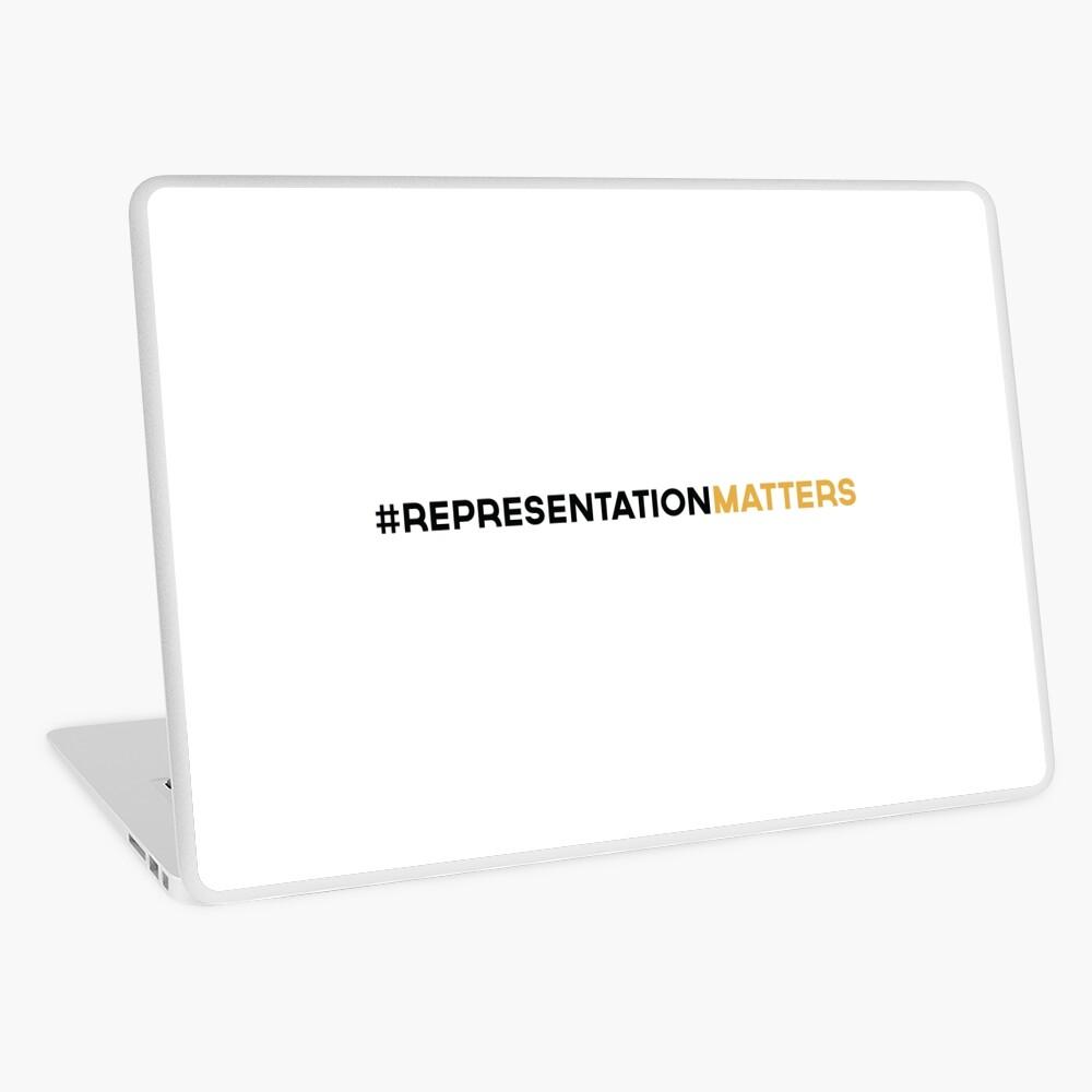 #RepresentationMatters Laptop Skin