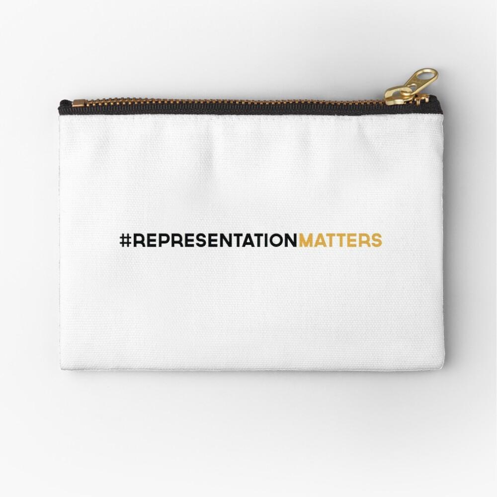 #RepresentationMatters Zipper Pouch
