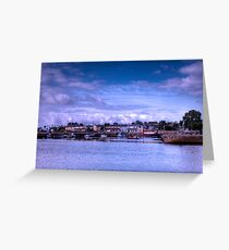 Galway Harbour - Galway, Ireland Greeting Card