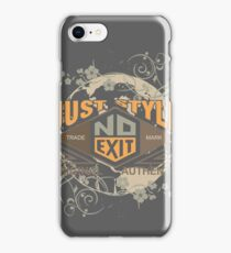 Just Style Authentic Ecology iPhone Case/Skin