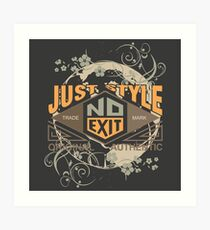 Just Style Authentic Ecology Art Print