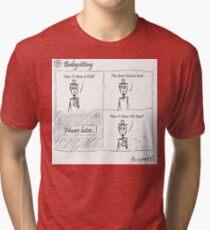 Babysitting Tri-blend T-Shirt