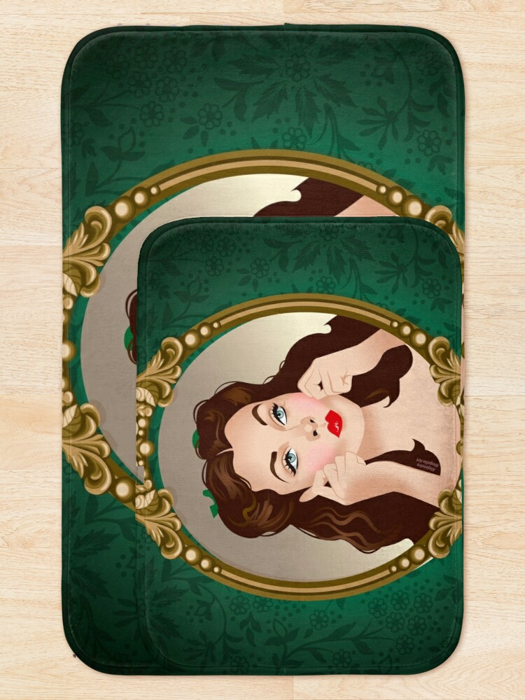 Alternate view of Scarlett Mirror Bath Mat