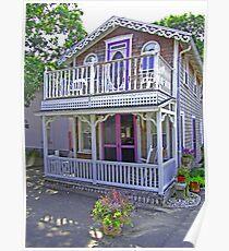 Oak Bluffs Gingerbread Cottages (7) Poster