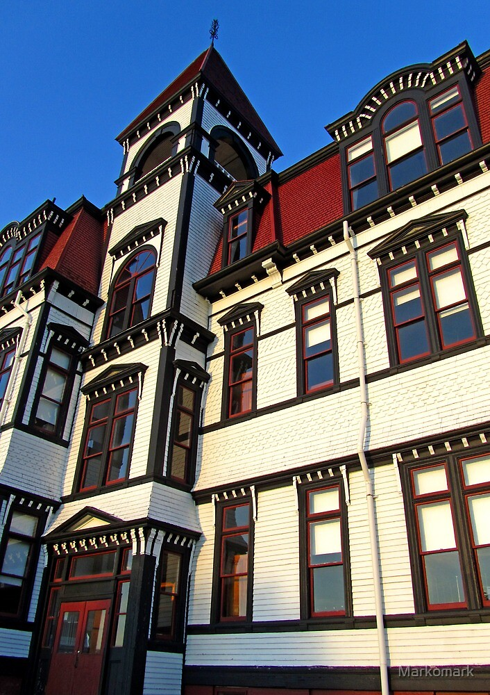 Lunenburg Academy (1) by Mark Sellers