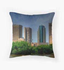 Winnipeg Skyline Throw Pillow