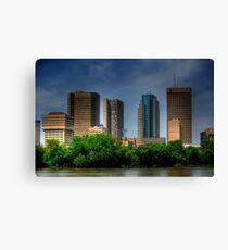 Winnipeg Skyline Canvas Print