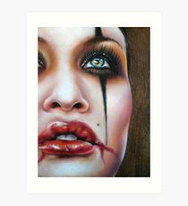 Janina Art Print