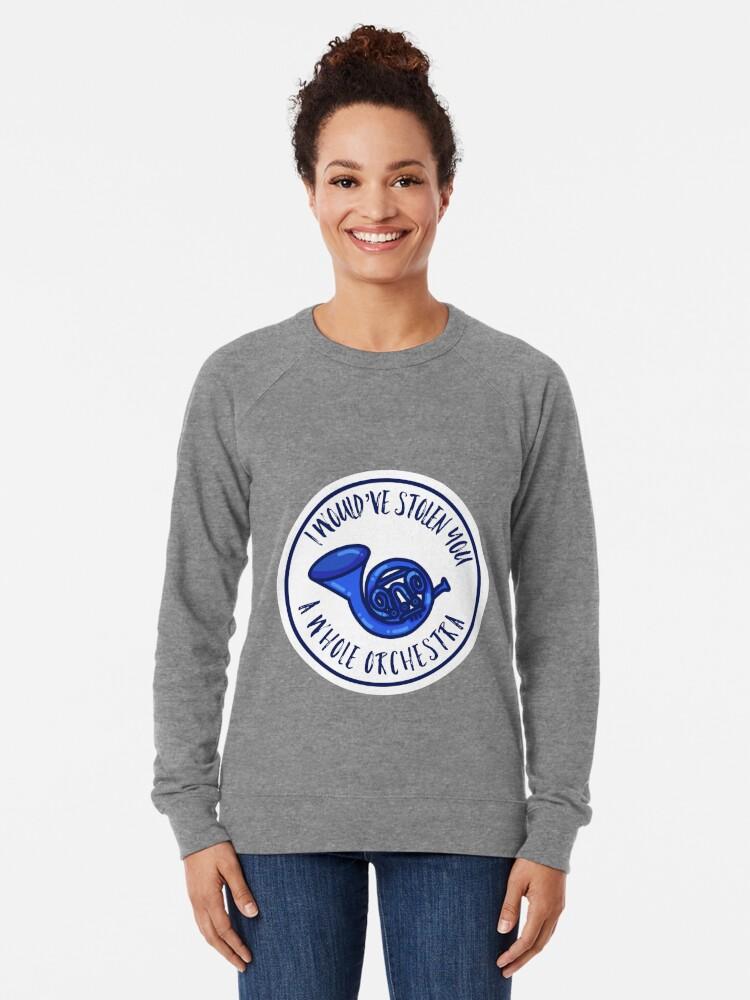 Alternative Ansicht von Blaues Waldhorn Leichter Pullover