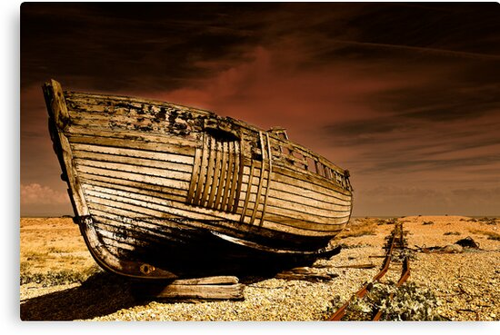 Dungeness Wreck II by Lea Valley Photographic