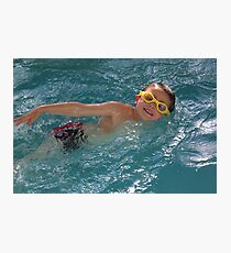 Swimming Photographic Print