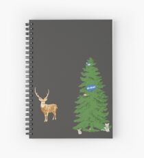 Here Comes the New Guy Spiral Notebook