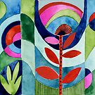 Modern Tulip by Janet Broxon