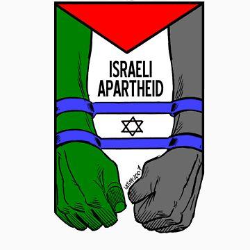 free palestine israeli apartheid by ventedanger