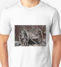 Authentic Red River Cart Unisex T-Shirt