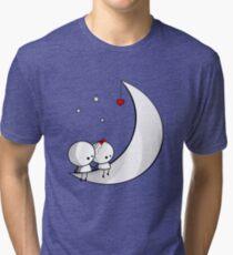 Sitting on the moon Tri-blend T-Shirt