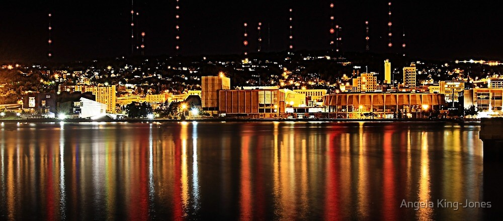 My Harbour city by Angela King-Jones