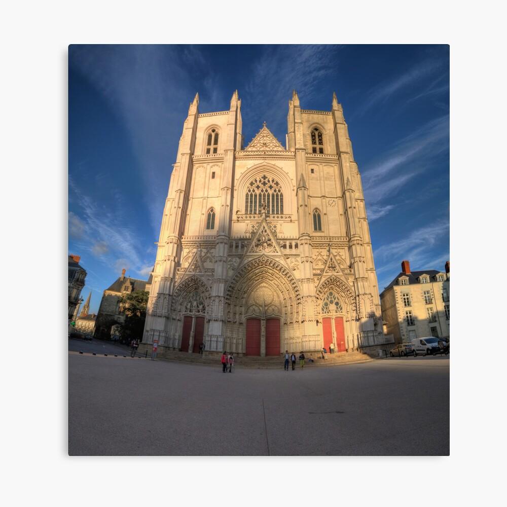 Cathedrale de Nantes Canvas Print