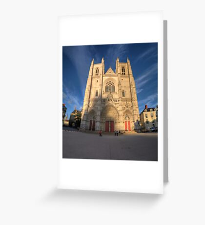 Cathedrale de Nantes Greeting Card