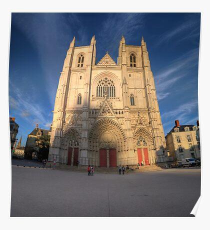 Cathedrale de Nantes Poster